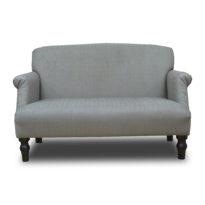 Серый диван Sonata-Pro Monroe в Петропавловске вид прямо