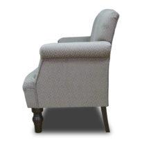 Серый диван Sonata-Pro Monroe в Петропавловске вид сбоку