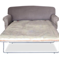 Серый диван Sonata-Pro Rochelle в Петропавловске разложенный