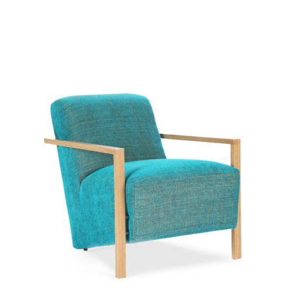 Синее кресло Sonata-Pro Long в Петропавловске