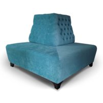 Синий диван Sonata-Pro Crystal в Петропавловске