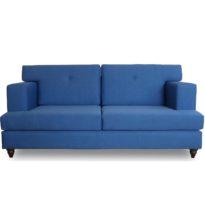 Синий диван Sonata-Pro Madrid в Петропавловске вид прямо