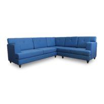 Синий угловой диван Sonata-Pro Madrid в Петропавловске