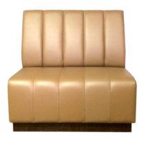 Светло-коричневый диван Sonata-Pro Corner в Петропавловске вид прямо