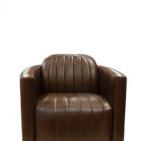 Тёмно-коричневое кресло Sonata-Pro Aviator в Петропавловске вид прямо