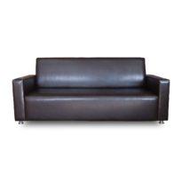 Тёмно-коричневый диван Sonata-Pro Angela в Петропавловске вид прямо