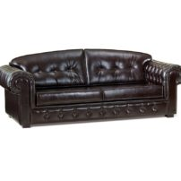 Тёмно-коричневый диван Sonata-Pro Arte в Петропавловске