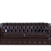Тёмно-коричневый диван Sonata-Pro Chesterfield в Петропавловске