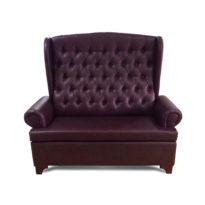 Тёмно-коричневый диван Sonata-Pro Daniela в Петропавловске вид прямо