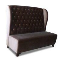 Тёмно-коричневый диван Sonata-Pro Darina в Петропавловске