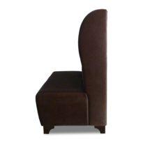 Тёмно-коричневый диван Sonata-Pro Darina в Петропавловске вид сбоку