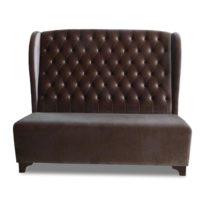 Тёмно-коричневый диван Sonata-Pro Darina в Петропавловске виж прямо