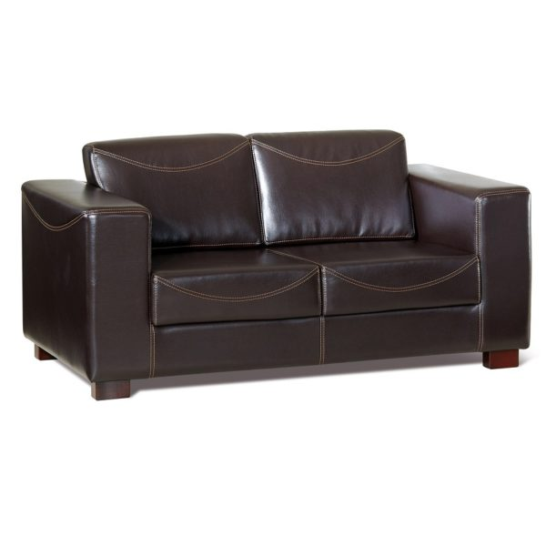 Тёмно-коричневый диван Sonata-Pro Riva Set в Петропавловске