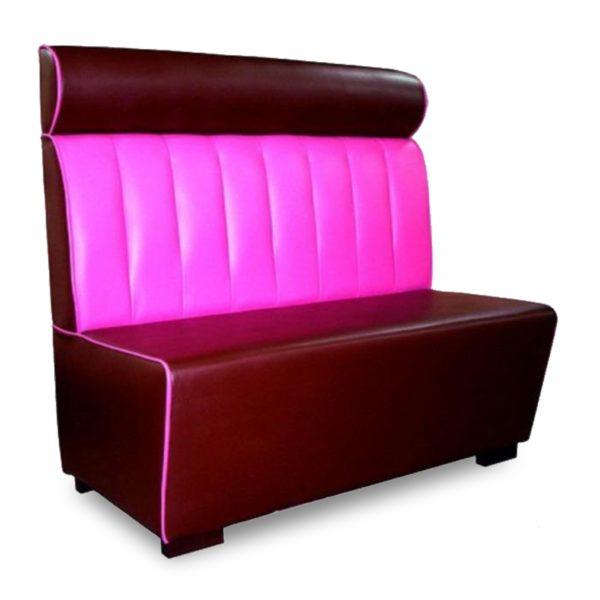 Тёмно-красный с розовым диван Sonata-Pro Preston в Петропавловске