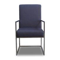 Тёмно-серое кресло Sonata-Pro Sayma в Петропавловске вид прямо