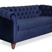 Тёмно-синий диван Sonata-Pro Bluse в Петропавловске