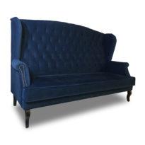 Тёмно-синий диван Sonata-Pro Luisa в Петропавловске