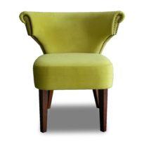 Зелёное кресло Sonata-Pro Loft в Петропавловске вид прямо