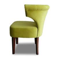 Зелёное кресло Sonata-Pro Loft в Петропавловске вид сбоку