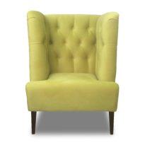 Зелёное кресло Sonata-Pro Spark в Петропавловске вид прямо