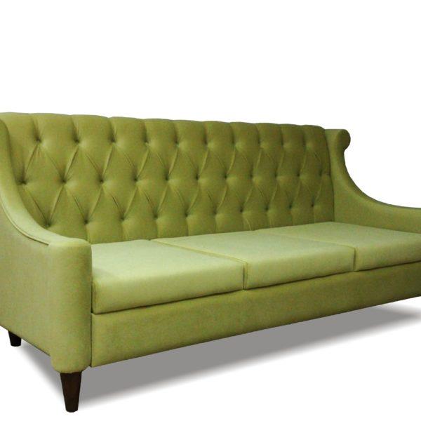 Зелёный диван Sonata-Pro Barhan в Петропавловске