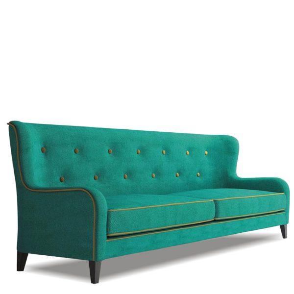 Зелёный диван Sonata-Pro Bellatris в Петропавловске