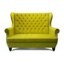 Зелёный диван Sonata-Pro Dolce в Петропавловске вид прямо